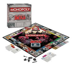 The Walking Dead Monopoly (Survival Edition)  #Monopoly #Zombies