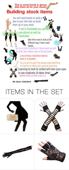 """ART DOLL CLASS TIPS series #1"" by dawn-lindenberg ❤ liked on Polyvore featuring art"