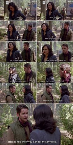 "Regina and Robin - 4 * 7 ""Family Business."" #OutlawQueen"