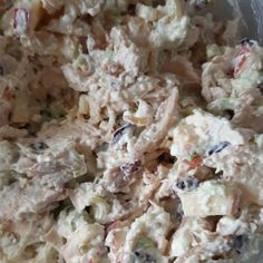 Healthy Chicken Salad Healthy Eating Recipes, Healthy Salads, Lunch Recipes, Dinner Recipes, New Recipes, Cooking Recipes, Juicer Recipes, Fast Recipes, Recipies