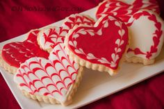 Cream Cheese Royal Icing - use a different shape and make these for every holiday - delish!