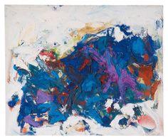 colin-vian:   Joan Mitchell (1925-1992) Series July 25 (IV), 1966