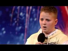 13years old soprano boy Andrew Johnston blows away the audience (Britain...the best singing I've heard.