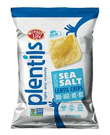 Sea Salt Grab & Go - Sea Salt Plentils® in a convenient grab & go pack so you never have to be without a satisfying vegan salty snack that packs lentil-based protein and a huge crunch.