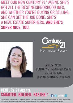 Meet our new Century 21 Northwest Realty agent: Jennifer Scott