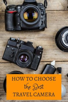 How to Select the Best Travel Camera in 2019 Waterproof? Point-and-shoot? Here's a look at the best travel cameras Best Cameras For Travel, Travel Photos, Free Travel, Cheap Travel, Best Waterproof Camera, Dslr Photography Tips, Travel Photography, Photos Voyages, Travel Essentials