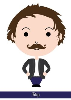 Nr. 01. Filip - Movember  Every day in #Movember a new moustache!