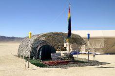 The Ephemeral Architecture of Burning Man