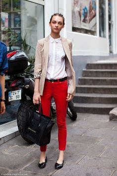 monday musing: colored pants.