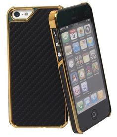 Showtime: Johnny Palermo iPhone 5 Carbon Metallic Case Gold-Schwarz