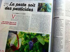 Si les résidus de pesticides dans le vin sont inoffensifs, pourquoi la norme admise pour l'eau potable est-elle 300 fois inférieure à ce qu'on détecte en moyenne dans le vin ?.. http://rue89.nouvelobs.com/blog/no-wine-is-innocent/2013/09/25/300-fois-plus-de-residus-de-pesticides-dans-le-vin-que-dans-leau-potable-231216