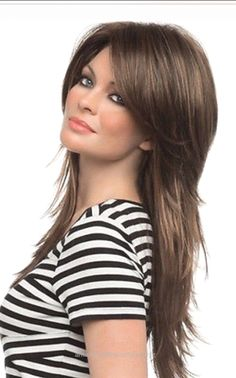Superb Long shag hairstyle  The post  Long shag hairstyle…  appeared first on  Amazing Hairstyles .