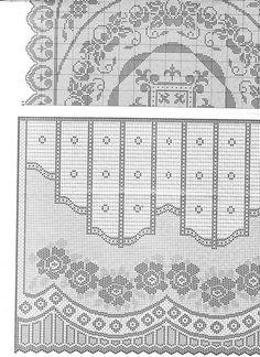 Gardine häkeln - crochet curtain - http://www.liveinternet.ru/users/sama_lubov/post267814619/