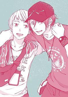 Free! Iwatobi Swim Club -Rin and Nitori