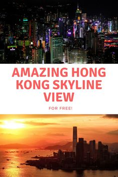 Where to get the best view of the Hong Kong skyline for free. Breathtaking view of Hong Kong harbour at sunset. Asia Travel, Japan Travel, Travel Tips, Travel Destinations, Travel Ideas, Travel Baby Showers, Travel Party, Travel Images, Travel Pictures