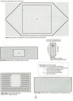 Noah's Ark TBC (S.S.Rainbow Tissue Box Cover) Pg. 4/33