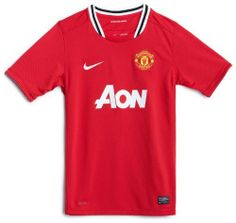 Manchester United Boys Home Jersey 2011-12 by Nike. $41.46. Manchester United Boys Home Jersey A brand new design for the 2011-12 season. 100% Polyester Printed Sponsor Child sizes available