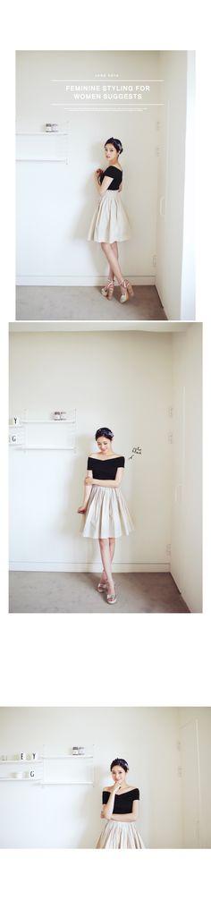 6colorウエストゴムひざ丈フレアスカート・全6色スカートスカート|レディースファッション通販 DHOLICディーホリック [ファストファッション 水着 ワンピース]