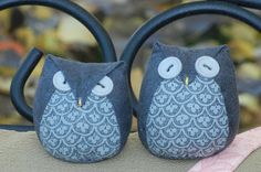 cute owls with tutorial!