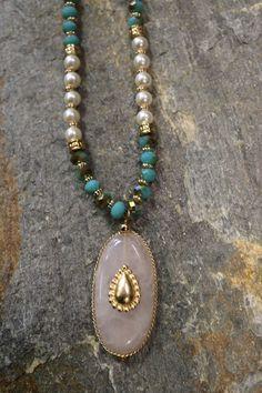 Bead & Hanging Stone