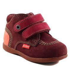 149A KICKERS BABYSCRATCH BORDEAUX www.ouistiti.shoes le spécialiste internet  #chaussures #bébé, #enfant, #fille, #garcon, #junior et #femme collection automne hiver 2016 2017