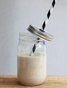 Almond Butter Milkshake
