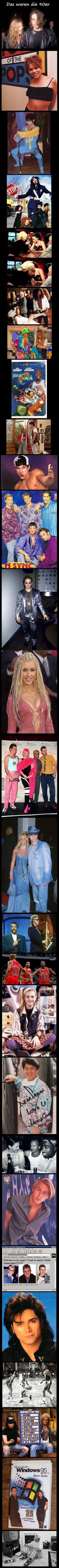 Oh man the 90s were awesome! look at those outfits!