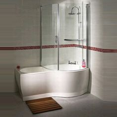 P Shaped Shower Baths Where Creativity Combines Functionality