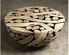 This is beautiful! Wood in strange contrast.