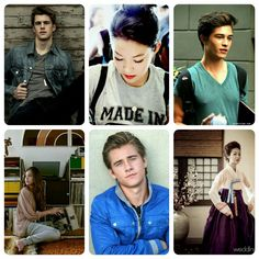 """Josh, John, Peter & Lara Jean.""""To all the boys i've loved before"""" and """"Ps. I still love you"""""""