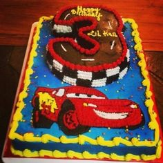 Disney's Cars Bday Cake