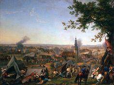 El ataque a la iglesia de Hochkirch el 14 de octubre de 1758. autor Jacinto de la Pegna. Más en www.elgrancapitan.org/foro