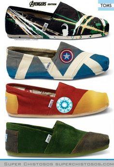Zapatillas de Los Vengadores