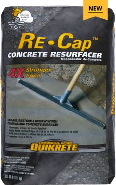 QUIKRETE® Concrete Resurfacer (No. is a special blend of portland cement, sand, polymer modifiers and other additives. Repair Concrete Driveway, Cement Patio, Concrete Driveways, Asphalt Driveway, Gravel Driveway, Concrete Floor Coatings, Concrete Resurfacing, Concrete Floors, Plywood Floors