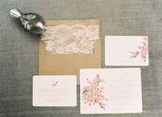 #lace  Photography: Kurt Boomer Photo - kurtboomerphoto.com Wedding Design + Planning: Joy de Vivre Event Design Boutique - joydevivre.net Floral Design: Florette Floral Designs - florettedesigns.com  Read More: http://stylemepretty.com/2012/05/10/the-hummingbird-nest-wedding-by-joy-de-vivre-event-design-boutique/