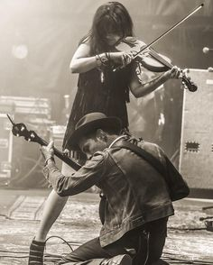 Brian Hensley Photography: Scott Avett and Tania Elizabeth of the Avett Brothers at Okeechobee Festival 2016