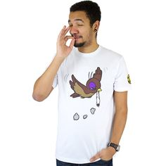 Ecko Unltd Fly Higher T-Shirt bleach white ★★★★★