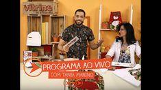 Programa Ao Vivo com Tania Marino | Vitrine do Artesanato na TV