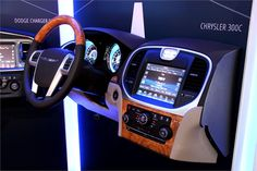 Chrysler's booth featured a display that showed the 300C's interior. - Automotive Fleet Magazine - www.automotive-fleet.com #fleet
