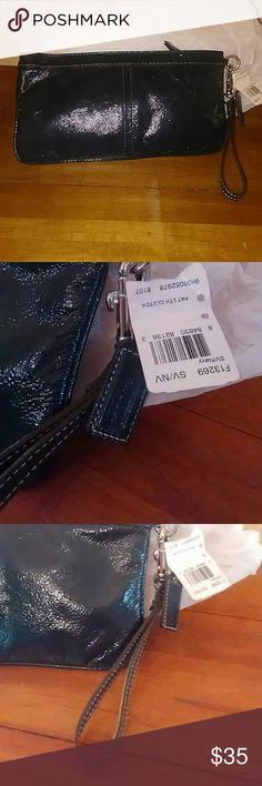 Spotted while shopping on Poshmark: Coach Wristlet! #poshmark #fashion #shopping #style #Coach #Handbags