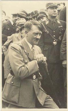 Handsome Adolf Hitler