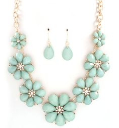minty soft necklace