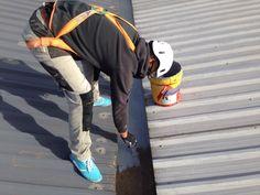 Trabajos de impermeabilización en canalones