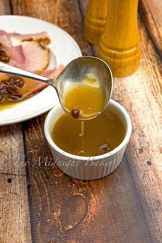 Raisin Sauce for Ham by Judith Hanneman