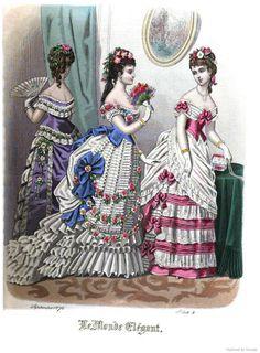 Le Monde Elégant 1875 September