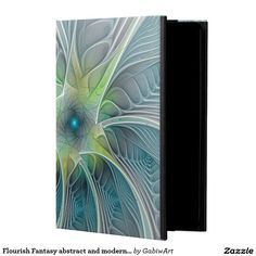 Flourish Fantasy abstract and modern Fractal Art Powis iPad Air 2 Case