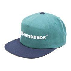 The Hundreds Bar Logo Snapback Cap Turquoise