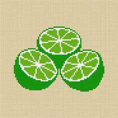 Cross Stitch Fruit, Tiny Cross Stitch, Cross Stitch Flowers, Modern Cross Stitch, Cross Stitch Charts, Cross Stitch Designs, Cross Stitch Patterns, Bead Embroidery Patterns, Beading Patterns
