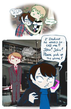Hannilock by Witequeen.deviantart.com on @deviantART #Hannibal #Hannibalfanart #NBCHannibal. YES! I love seeing some Hannibal crossover art!