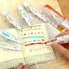 Ciao, benvenuto a JnMstudio.    Bella giapponese penna forma decorazione nastro.    3pc per voi. Modello sarà la trasmissione di casualmente. Cerchiamo
